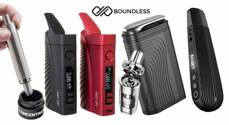 Boundless vaporizadores